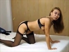 Sexy Mature Asian wife Gina