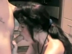 Shy wife gives a great oral-sex