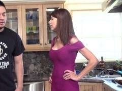 Busty neighbor milf rodsucking until facecreamed
