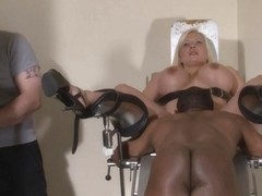 Clinic domination medical fetish of Melanie Moon in pussy stabling punishment and hospital bdsm wi.