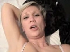 Amateur gal screwed in the one and the other holes