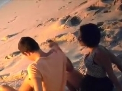 Amazing video with me and my lover banging on a beach