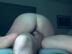 My chubby wife loves riding my cock