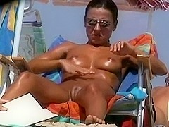 Stripped Beach - One of the hottest twats ever