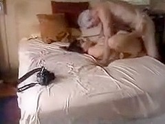Real cuckold wife takes on a senior mature paramour