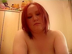 Redhead non-professional big beautiful woman fuck and facial