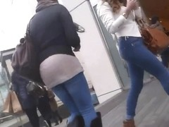 Sexy legs and arse compilation - in the street