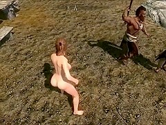 Perils of escaped Skyrim slavegirl twenty edited