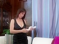 Kelly Capone Pleasures Herself On The Sofa