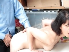Officer offered Penelope to suck and fuck her