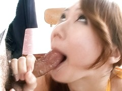 Rough pleasures for insolent porn model Kazumi Nanase