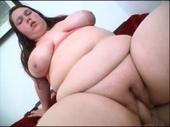 Obese Brunette Hair Titfucks and Acquires Plowed