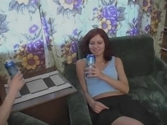 Amazing Amateur movie with Redhead, Shaved scenes