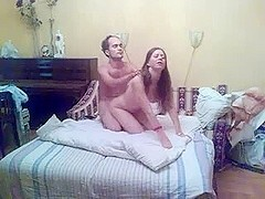 Hot homemade sex with my sexy wife