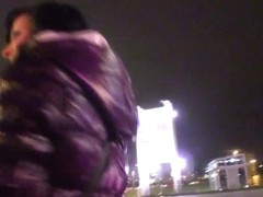 Real pulled euro railed in shavedpussy pov