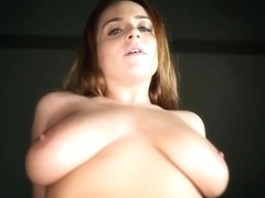 Hottest blonde dirty blowjob