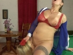 GirlsForMatures Clip: Emilia and Connie