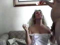 ANDRA JUNE BEING WAXED AND FUCKED AND CUM ON