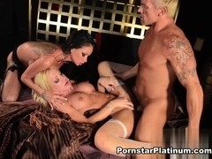 Raven Bay in Threesome with Amy Brooke