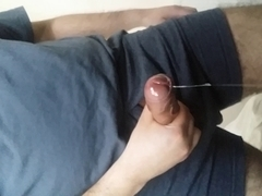 My overweight mushroom rod head oozing precum