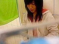 taiwan girl showering show