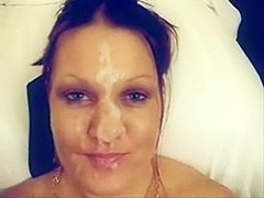 Tug Job And A Facial For The Wife