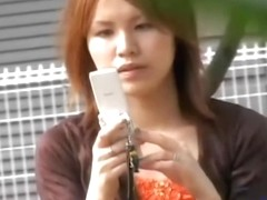 Kinky downblouse video of fascinating Asian bitches and their tight sexy tops