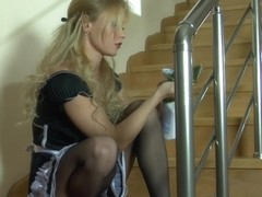 PantyhoseTales Video: Blanch and Adam