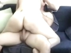 screwing my wife missionary on the sofa dropping my semen on her abdomen
