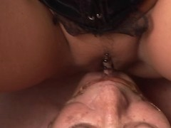 Candy Cox,Cora Blau in FunMovies video:Dominating Threesome
