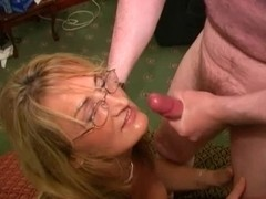 British Wench Mother Likes Cum Facual Cumshots (Crystal two)