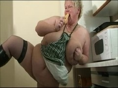 big beautiful woman Slag toying