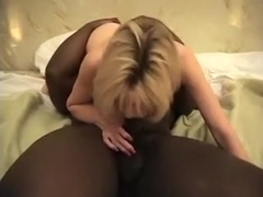 For my BBC one sexy babe is not enough, so I called a dark brown hair too