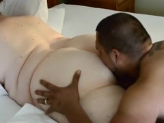 My hubby's friend wants me to eat my fat ass so badly