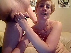 Mature couple exchanging oral sex