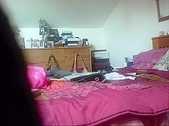 wife caught on hidden camera