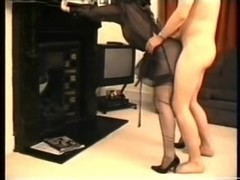Noisy orgasm as I'm fucked standing up