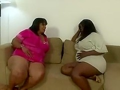Brazilian BBWS Farting On Skinny Girl