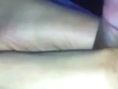 Ruined Jizz Flow Footjob