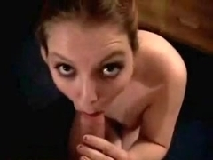 College blowjob and facial