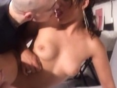French non-professional anal act with facial