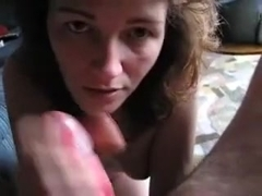 See her engulf me off, then see me cum all over her face.