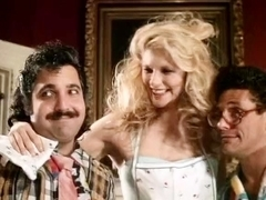 Ashley Welles, Billy Dee, Ron Jeremy in exciting threesome from the golden age of porn
