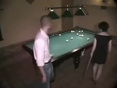 Absolutely Crazy Fuck At The Billiard Saloon!