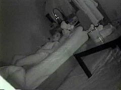 Nightvision spying on girl
