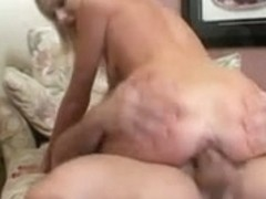 Smutty angel copulates and blows penis