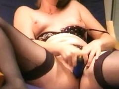 So agreeable blond web camera show