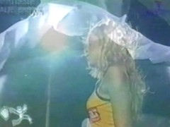 Stripper cheerleaders showing their skills and more