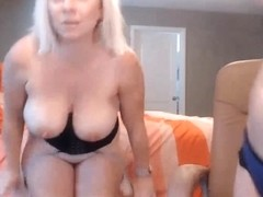 Busty Blonde Chicks Pleasure Each Other