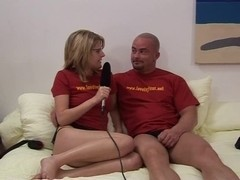 pair try out sex toys
